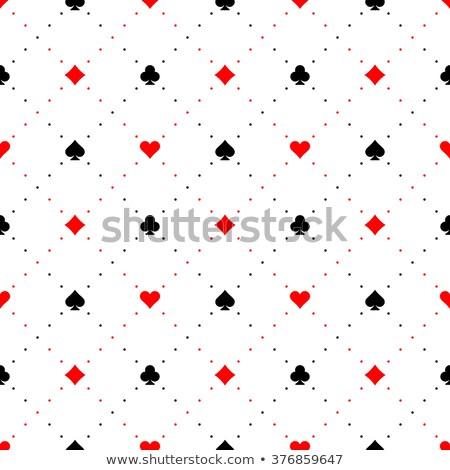 Сток-фото: роскошь · белый · покер · карт · орнамент
