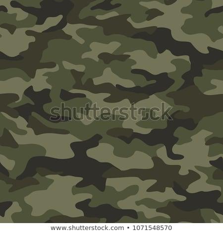woodland camouflage seamless pattern stock photo © timurock