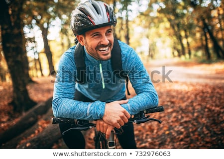 Healthy cyclist. Stock photo © Fisher