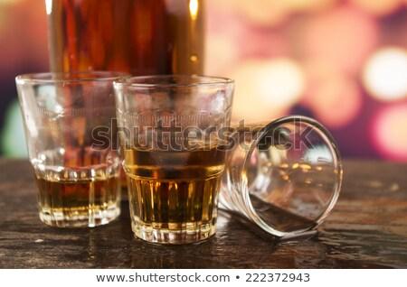 üç · gözlük · beyaz · şarap · farklı · meyve - stok fotoğraf © capturelight