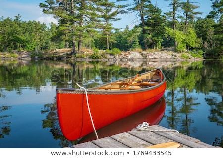 meer · zomer · regio · ontario · zomertijd · water - stockfoto © mpetersheim