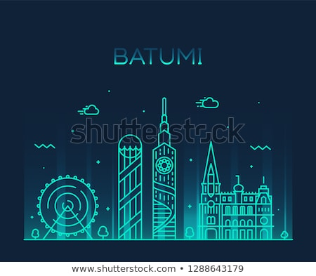Batumi skyline, Georgia Stock photo © joyr
