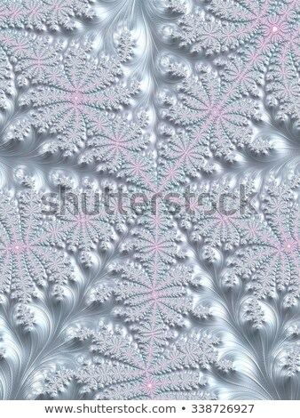 fractal illustration background Winter fairy tale with ornament Stock photo © yurkina