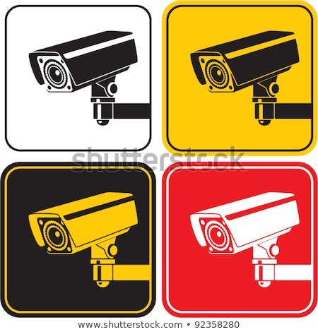 Filmadora vermelho vetor ícone projeto digital Foto stock © rizwanali3d