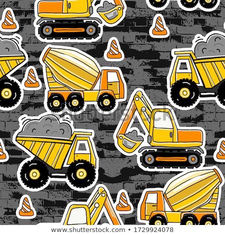 absztrakt · autó · sziluett · terv · lila · munka - stock fotó © frescomovie