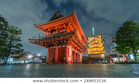 templo · santuário · Tóquio · foco · japonês · texto - foto stock © Hofmeester