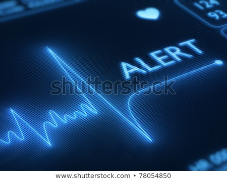 Diagnose hartaanval medische grijs wazig tekst Stockfoto © tashatuvango