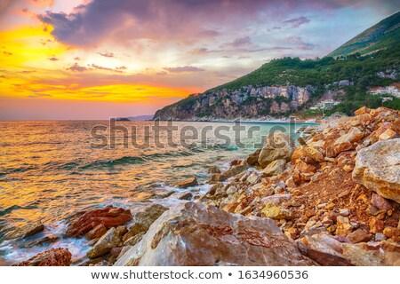 Adriatic Montenegro shore Stock photo © Steffus