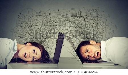 思考 交換 アイデア パートナーシップ ビジネス 通信 ストックフォト © Lightsource
