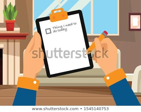 zakenman · brief · handen · geïsoleerd · witte · hand - stockfoto © deandrobot