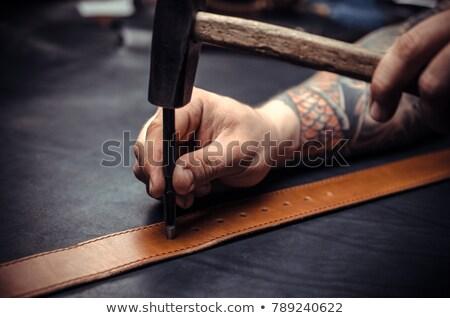 Belt punch Stock photo © Photofreak