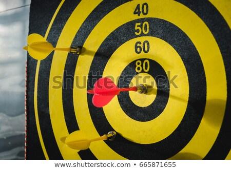 Manyetik az bağlı dart Stok fotoğraf © kraskoff