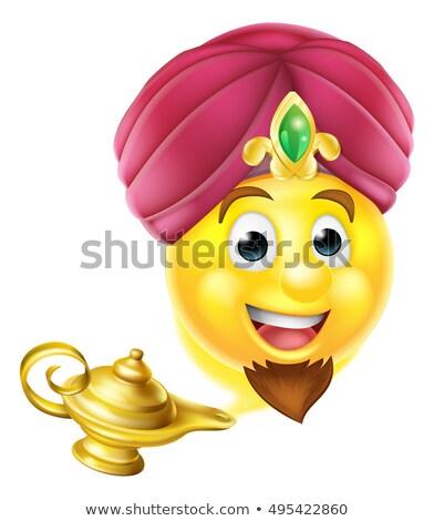 smilley genie Stock photo © davisales