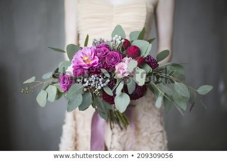 Сток-фото: красивой · Purple · букет · стороны · искусства