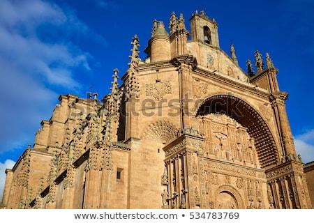 San Esteban Convent in Salamanca at Spain Stock photo © lunamarina