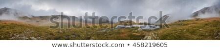 dumanlı · dağlar · panoramik · görmek · kubbe · muhteşem - stok fotoğraf © kayco