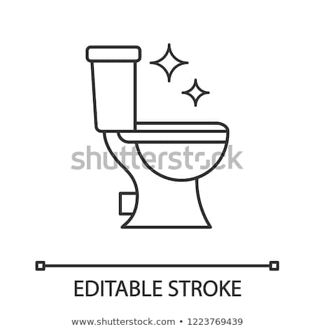 cleaning of toilet bowl stock photo © ssuaphoto
