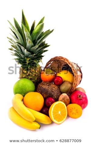 sepet · tropikal · meyve · gıda · meyve · yaz - stok fotoğraf © kayros