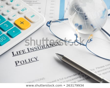 Life Insurance Policy Stock photo © devon