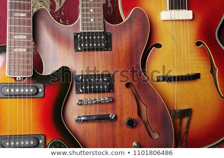 Three Acoustic Guitars Stock photo © lincolnrogers