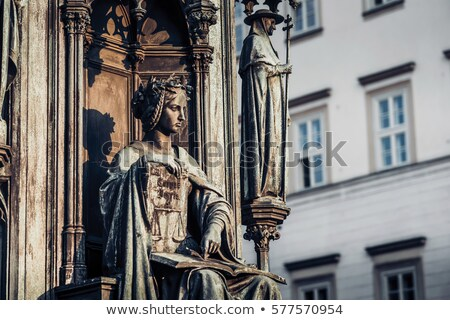 Personification of the Faculty of Law, decoration of the statue  Stock photo © Kirill_M