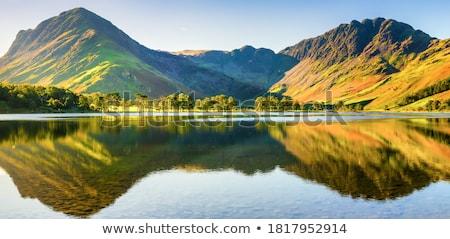表示 英語 湖水地方 夏 湖 風光明媚な ストックフォト © peterguess