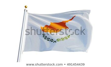 Cyprus vlag vector afbeelding ontwerp Stockfoto © Amplion