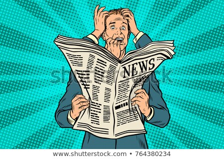 Businessman shocked by bad news, many hands Stock photo © studiostoks