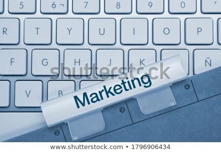 online support   written on blue keyboard key stock photo © tashatuvango