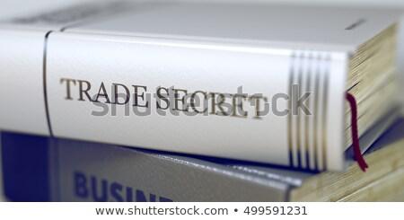 3D · dinheiro · livros · negócio · trabalhar - foto stock © tashatuvango