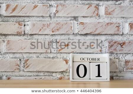 Cubes 1st October Stock photo © Oakozhan