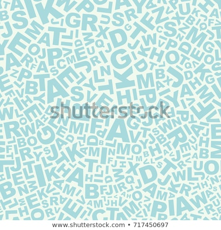 alphabetical background Stock photo © get4net