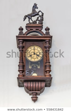 Antique clock with figurines Stock photo © 5xinc