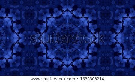 Abstract Geometric Bright Kaleidoscope Pattern Stock photo © ESSL