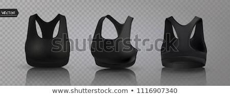 Szett különböző izolált fehér lány szexi Stock fotó © DeCe
