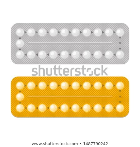 Set of Colored Condoms Stock photo © Valeo5