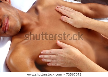 ancient Mayan massage therapy Reiki Maya Stock photo © lunamarina