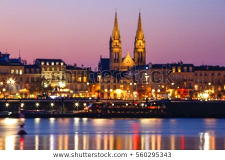 Saint-Louis des Chartrons Church in Bordeaux Stock photo © benkrut