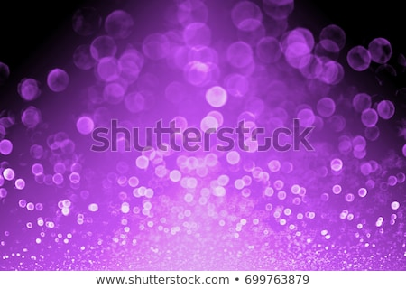 abstract violet background with falling balls stock photo © artspace