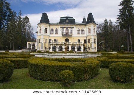 Betliar castle, Slovakia Stock photo © grafvision