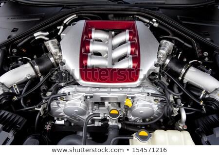 autó · gép · részlet · közelkép · viselet · lánc - stock fotó © wdnetstudio