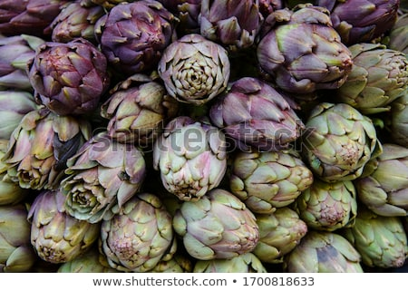Artichokes on the market Stock photo © boggy