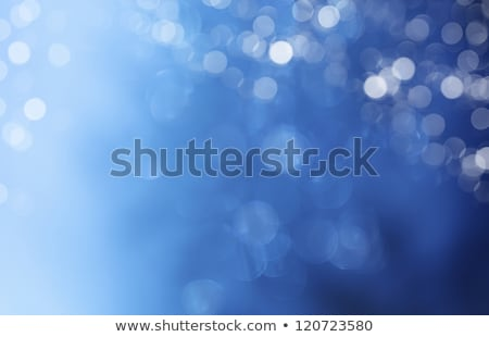 Photo stock: Belle · Noël · chutes · de · neige · bleu · neige · fond