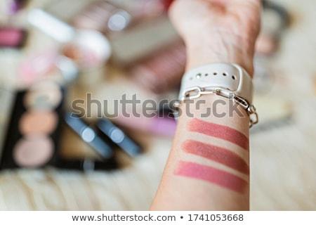 моде блоггер косметики красоту Сток-фото © dashapetrenko