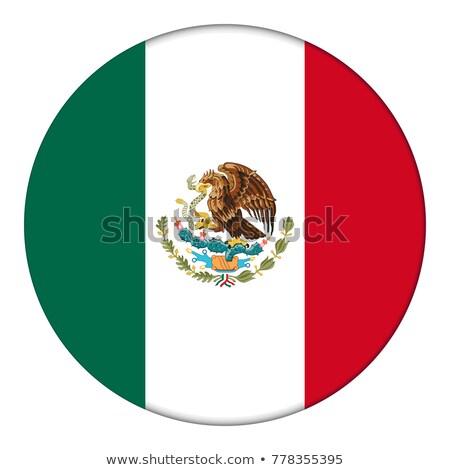 Messico · bandiera · grigio · segno · web · viaggio - foto d'archivio © colematt