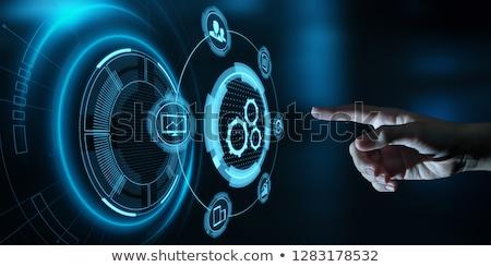 business process as a service stock photo © mazirama