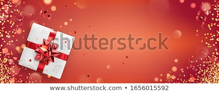 red women's day background with sparkle effect Stock photo © SArts
