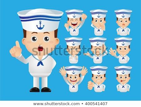 Sad sailor Stock photo © MyosotisRock