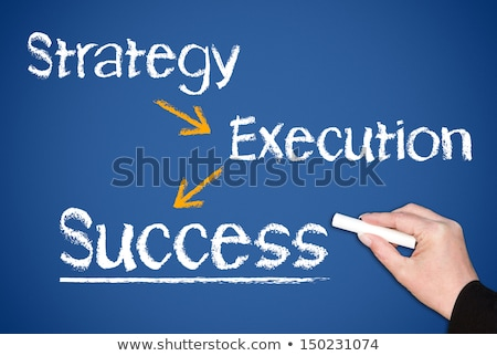 Vision Strategy Execution Success Business Concept Stock photo © ivelin