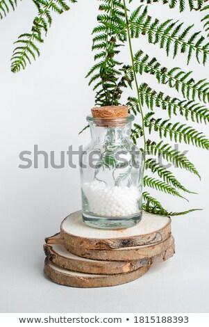 ホメオパシー · 花 · 自然 · ボトル - ストックフォト © madeleine_steinbach
